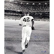 Mariano Rivera 2006 Entering The Game B&W 16X20 Photo (Signed By Anthony Causi)