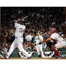 David Ortiz 2004 ALCS Walk Off Home Run 16X20 Photo