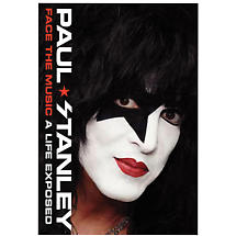 Face The Music Signed Book by Paul Stanley - Autographed Bookplate