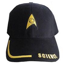 Science Star Trek Baseball Caps
