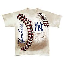 Hardball Oversized Print Yankess and Red Sox T-Shirts