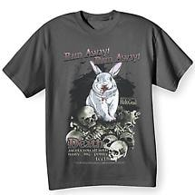 Run Away! Monty Python and the Holy Grail T-Shirt - Killer Bunny Attack