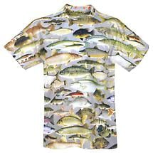 Lake Fishing T-Shirt - Sublimated All-Over Print