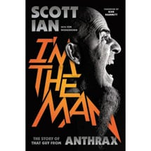 I'm The Man by Scott Ian - Signed