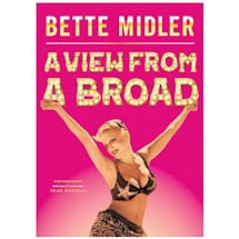 A View From A Broad By Bette Midler Unsigned