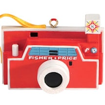 Fisher-Price Retro Toy Ornaments-Camera