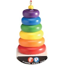 Fisher-Price Retro Toy Ornaments-Fisher Price Rock A Stack