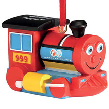 Fisher-Price Retro Toy Ornaments-Huffy Puffy Train