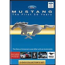 Mustang : The First Fifty Years Commemorative DVD Set