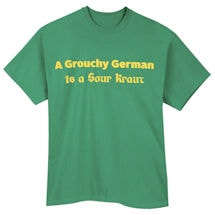 German Oktoberfest T-Shirts - Grouchy German