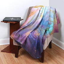 Hubble Nebula Throw - Purple Galaxy