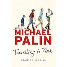 Michael Palin Travelling To Work Signed Book