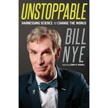 Bill Nye Unstoppable Signed Book
