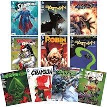 10 pack DC Comic Book Bundle