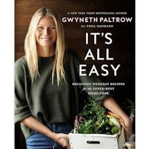 It'S All Easy Gwyneth Paltrow Cookbook And Recipes With Signed Tip-In Page Signatures